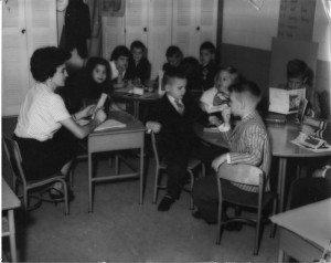An early Sunday School class.