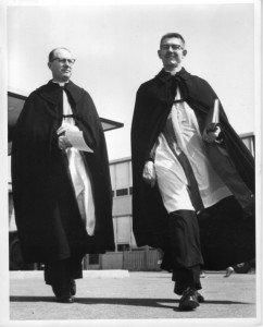 Rev. Harley Meyer, our first pastor