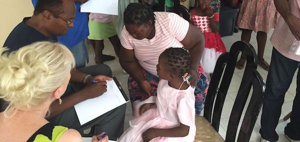 Medical assessments in Haiti