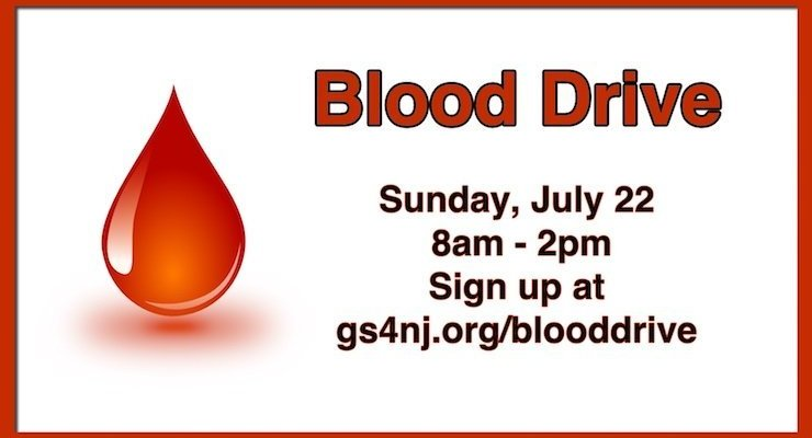 Blood Drive at Good Shepherd on July 22, 2018