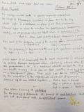 Ted Odling's Teaching Notes