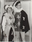 "Doreen Sisson and boyfriend in fancy dress for ""Panto (Archive reference: GSAA/P/1/990)"