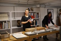 Preparing for the opening of the GSA Archives!
