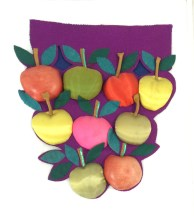 'Apples' by Mary Gribble in the GSA Archives and Collections (reference: DC/29/7/35)