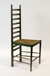 Ladder-back chair for Windyhill by Charles Rennie Macintosh, 1901, The Glasgow School of Art Archives and Collections (Archive reference: MC/F/40)