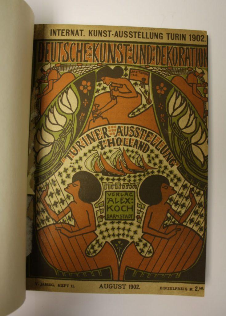 Cover of Deutsche Kunst und Dekoration, Volume 5, 11, The Glasgow School of Art Library