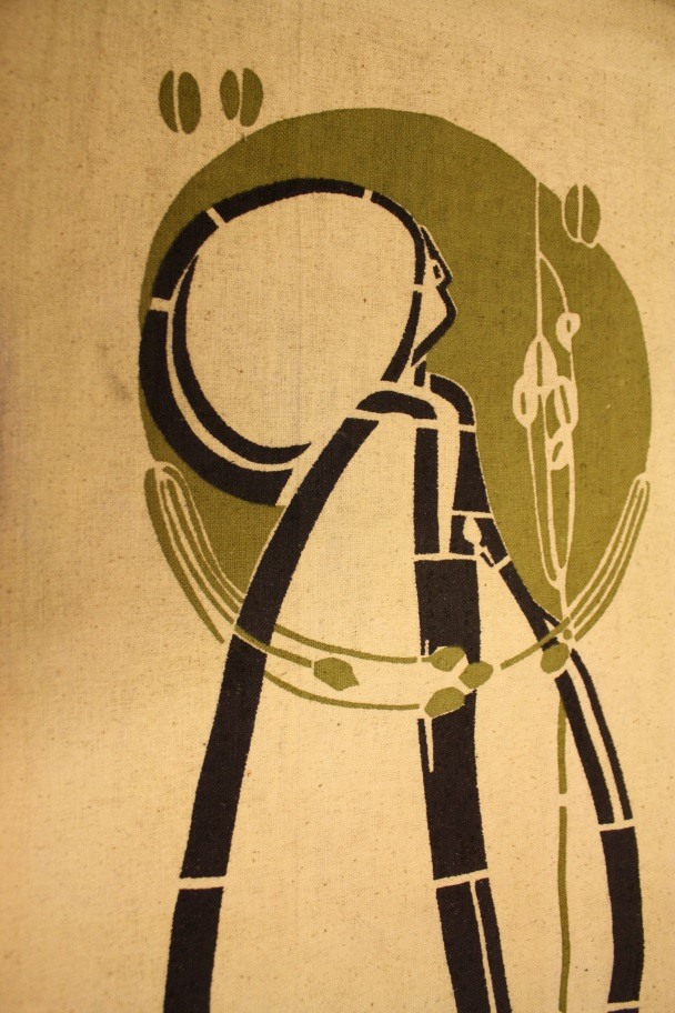 Printed reproduction of banner, 1981, The Glasgow School of Art Archives and Collections, Archive reference NMC/1592.