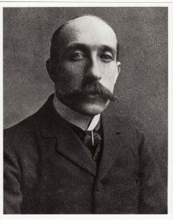 Portrait of Professor Eugene Bourdon taken c1910. Glasgow School of Art Archives and Collections (archive reference: GSAA/P/1)
