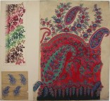Untitled Paisley Shawl Design, GSA Archives and Collections (archive reference: DC/39/17)