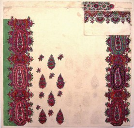 Untitled Paisley Shawl Design, GSA Archives and Collections (archive reference: DC/39/02)