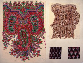 Untitled Paisley Shawl Design, GSA Archives and Collections (archive reference: DC/39/23)
