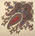Untitled Paisley Shawl Design, GSA Archives and Collections (archive reference: DC/39/03)