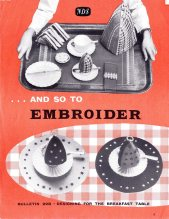 And So to Embroider Bulletin 22B, GSA Archives and Collections (archive reference: NDS/PUB/5/22B)