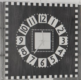 One of Mackintosh's clocks which was controlled by the Master Clock. Archive Reference: GSAA/P/7/364/54