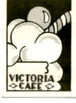 "Original ""Licker License"" from the Vic Café, c1975"