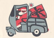 Christmas Card by Conrad McKenna (DC 075/1/1)