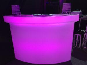 gsa audiovisuel bar lumineux led