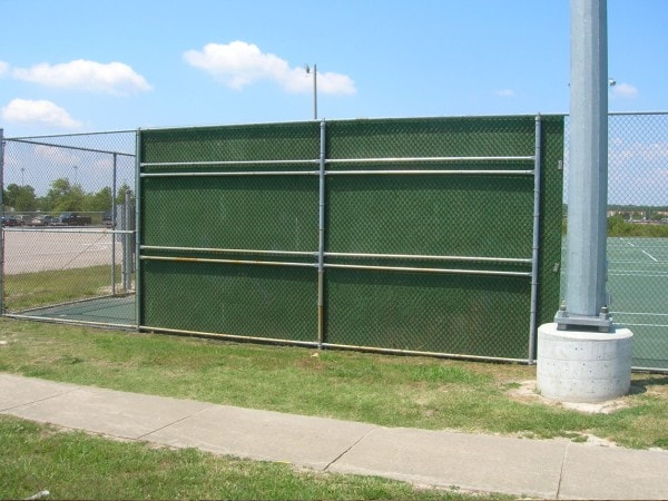 Tennis Court Backboard