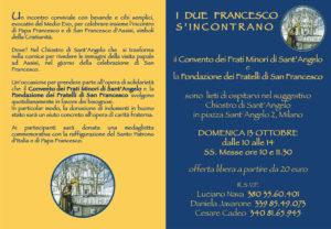 I due Francesco s'incontrano 13.10.2013