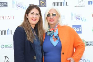Paola Tassone-autrice TSN e Sara Iannone- presidente giuria TSN