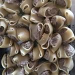 conchiglioni ripieni con funghi