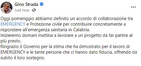 La visione di Gratteri: ho una figura per la sanità in Calabria