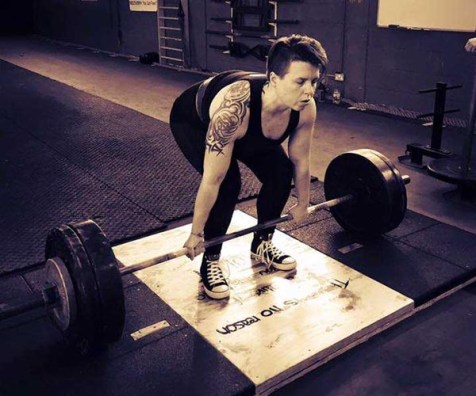 Polly deadlifts