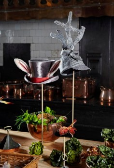 The Mad Hatter 2013 and hat for Thom Browne AW14 in the Kitchen