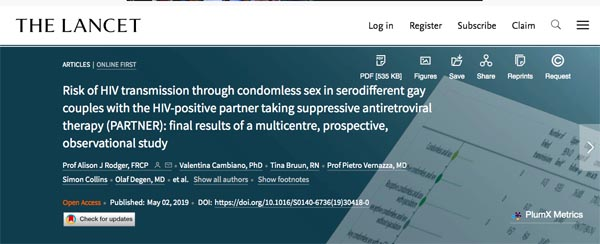 Effective antiretroviral treatment prevents sexual transmission of