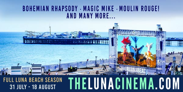 23afac834 Luna announce 2019 season of films on Brighton Beach   Gscene Gay ...