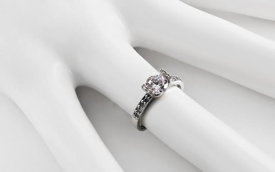 Verlobungsring Magnificence Swarovski fr Damen CSRI791A