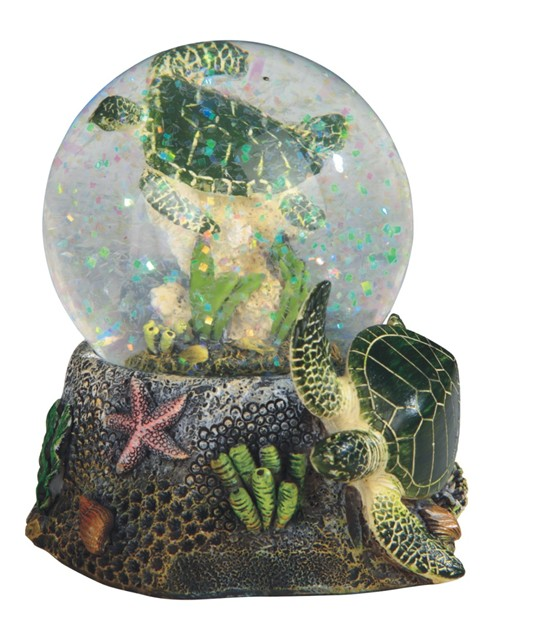 3 34 Sea Turtle Snow Globe  GSC Imports