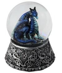 Blue Dragon Snow Globe | GSC Imports