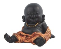 Little Buddhist Monk in Golden/Black | GSC Imports