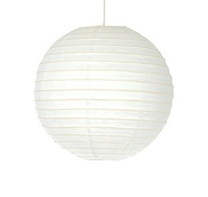 lampshade-white-paper-