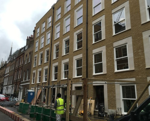 painting windows in central london