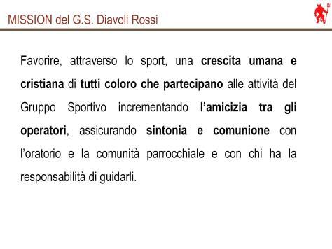 La Mission del GS Diavoli Rossi
