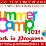 SUMMER CAMP – TEMPO D'ESTATE 2021