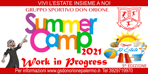 SUMMER CAMP – TEMPO D'ESTATE 2021