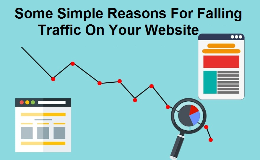 Some Simple Reasons For Falling Traffic On Your Website
