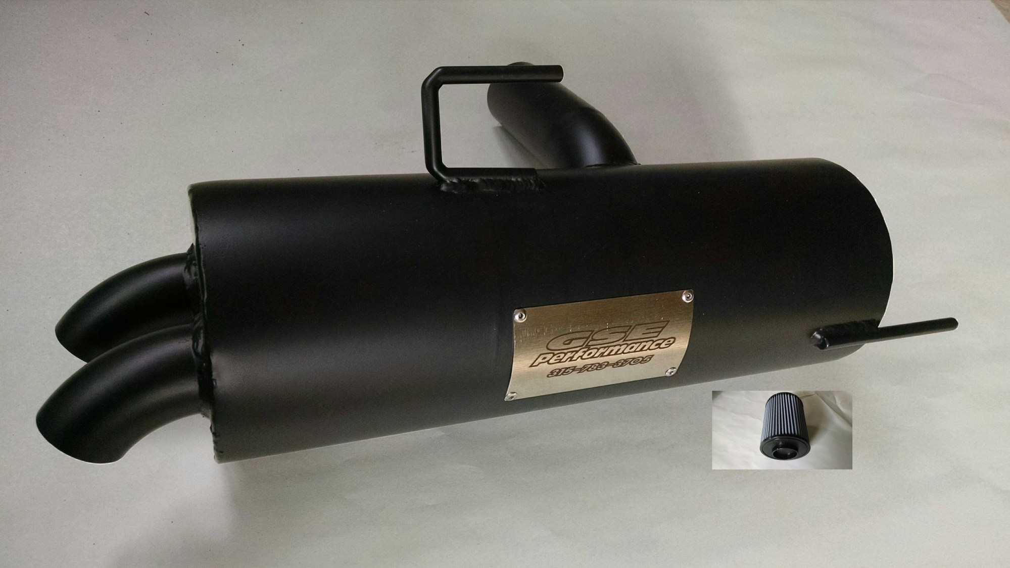 hight resolution of polaris rzr 800 trail tamer muffler high flow air filter gse