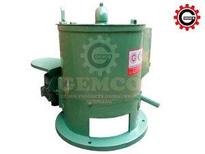 Centrifugal Drier With Heating Air System