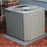 central air conditioner unit outside