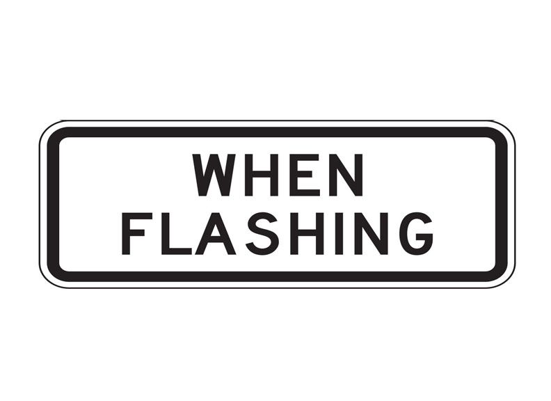 S4-4 When Flashing Signs at Garden State Highway Products