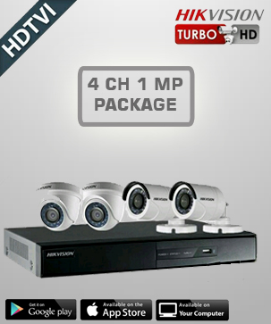 Hikvision HD 4 CH 2 MP