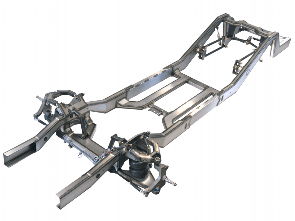 medium resolution of 1963 1966 chevy c10 air ride chassis