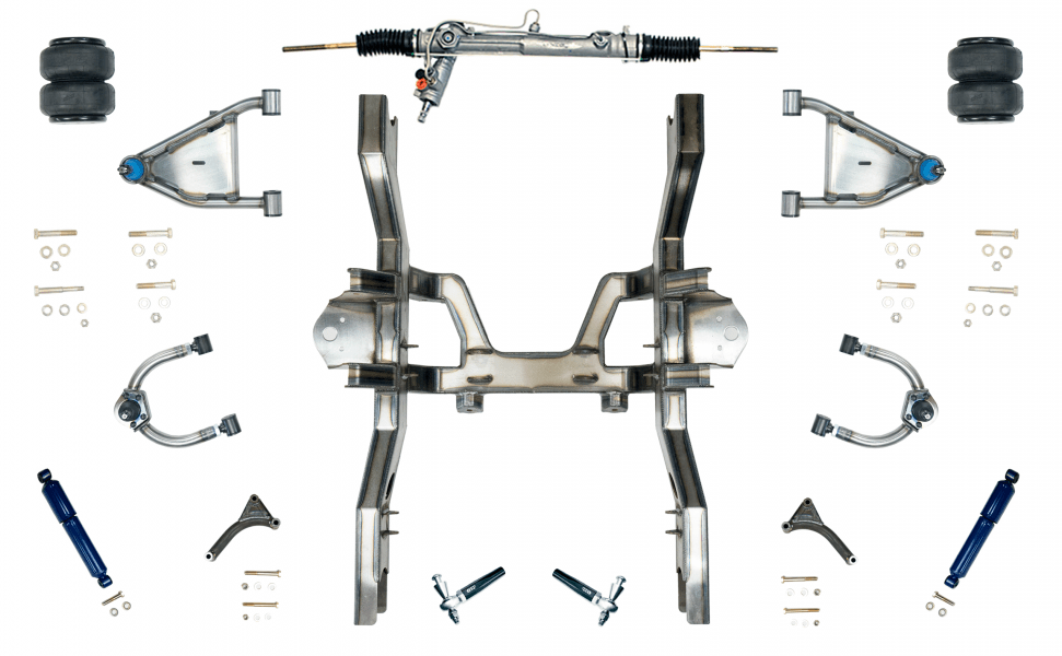 Best Quality & Price 55-59 Chevy Air Ride Suspension Kit