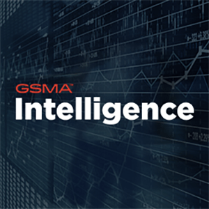 GSMA Intelligence text with dark background