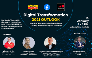 Digital Transformation Outlook 2021 by GSMA, Facebook and Indosat
