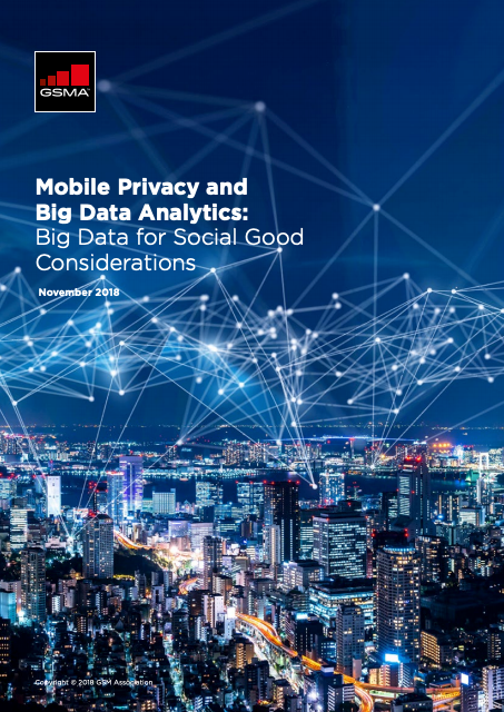 Mobile Privacy and Big Data Analytics: Big Data for Social Good Considerations image